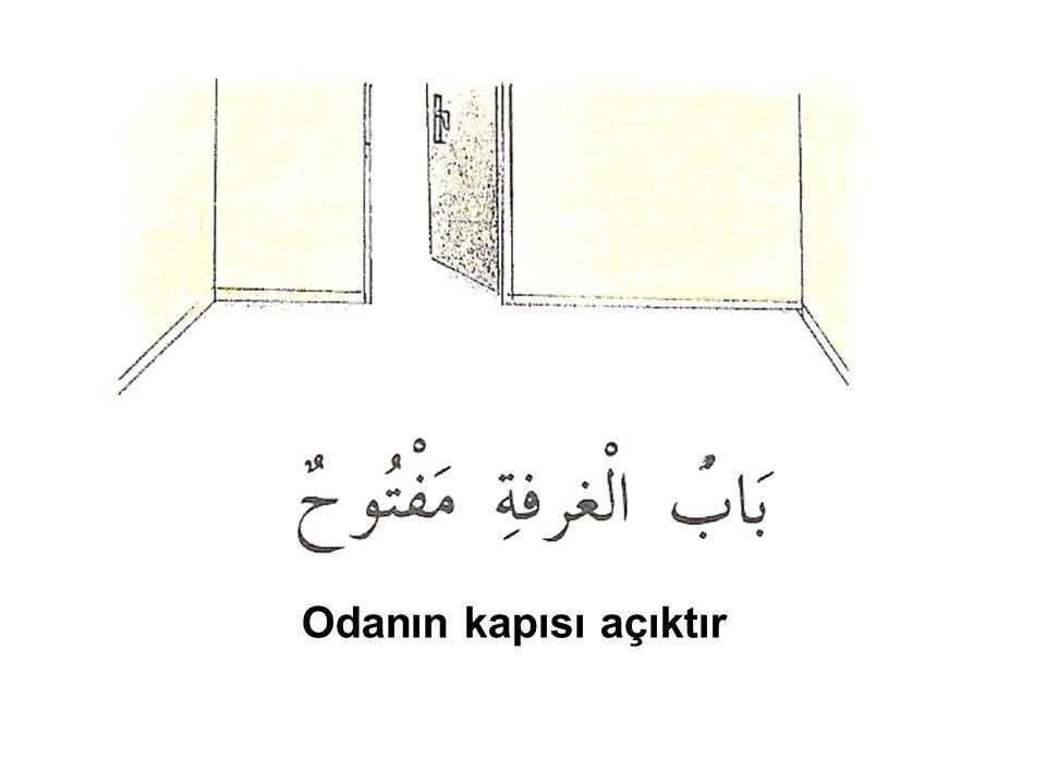 Odanın kapısı açıktır