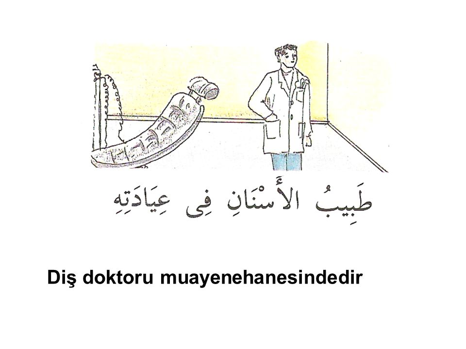 Çocuk doktoru muayenehanesindedir