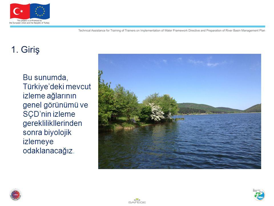 Makroalg İzleme Sadece geçiş suları ve kıyı suları içindir.