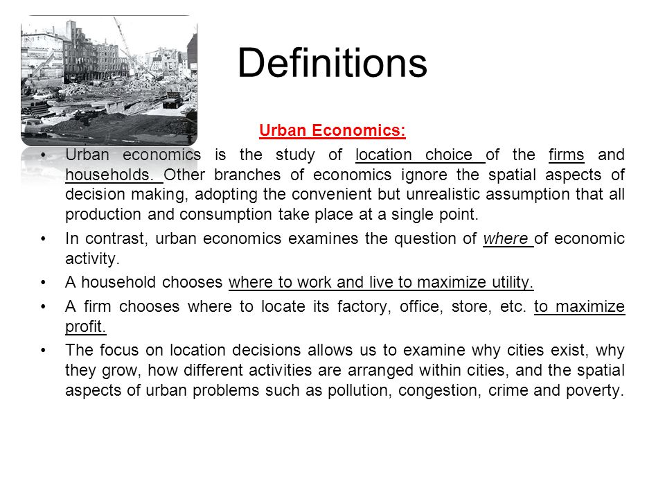 Definitions The geographical areas can be classified according to different criteria.