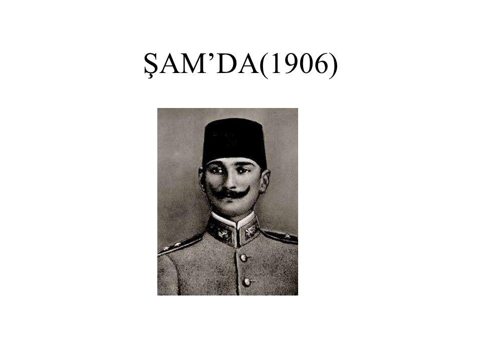 ŞAM'DA(1906)