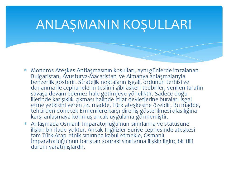  Mustafa Kemal in Samsun a çıkışı, 19 Mayıs 1919 tarihinde 9.