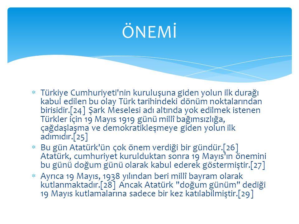  Türk inkılabının ihtilâl safhası başlamıştır.