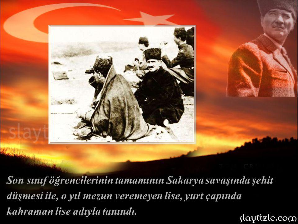 """1893 yılında """"Kayseri Sultanisi"""" adıyla eğitime başlayan, Kayseri Lisesi, Türkiye'nin kurtuluş mücadelesi verdiği yıllarda büyük öneme sahipti."""