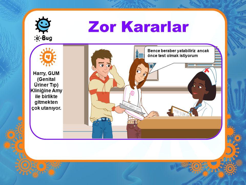 Zor Kararlar Amy ve Julia ilk defa bu işin nasıl olduğunu tartışmakta ve herpes hakkında endişe duymaktadır.