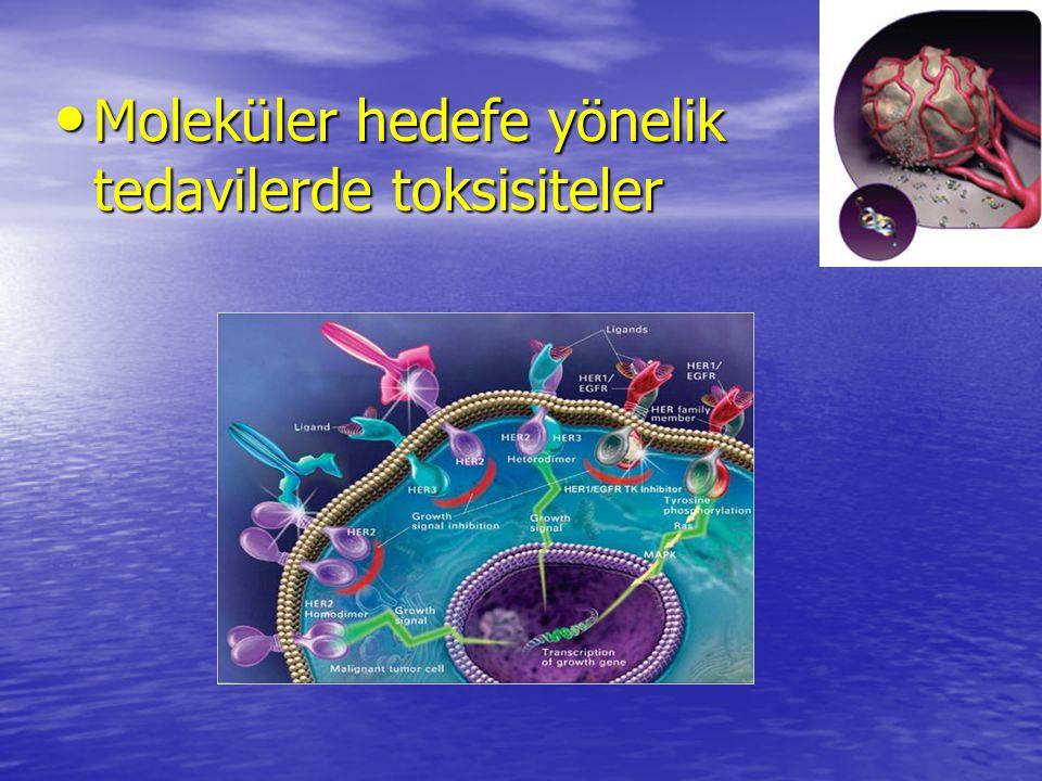 Moleküler hedefe yönelik tedavilerde toksisiteler Moleküler hedefe yönelik tedavilerde toksisiteler