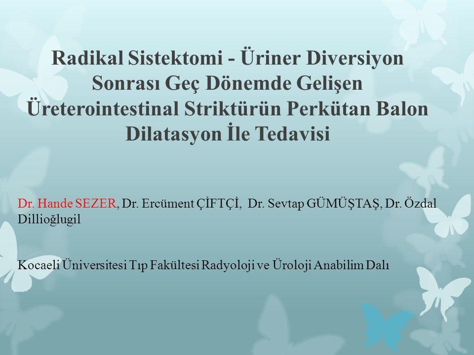  Radikal sistektomi kasa invaziv mesane tümöründeki tedavi yöntemidir.