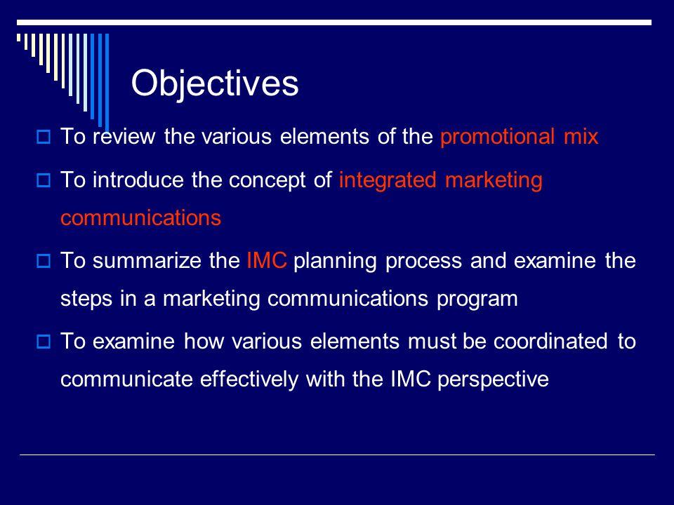 Situation Analysis  Internal analysis.