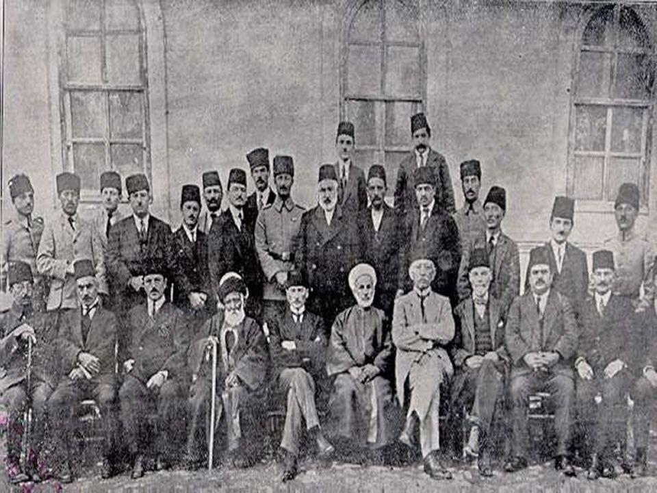 * İtilaf Devletleri * İtilaf Devletleri temsilcisi -«Yüksek Komiser» * İngiltere-İstanbul-Ermeni ve Rum cemaati * Osmanlı halkı * Fransızlar-İtalyanlar
