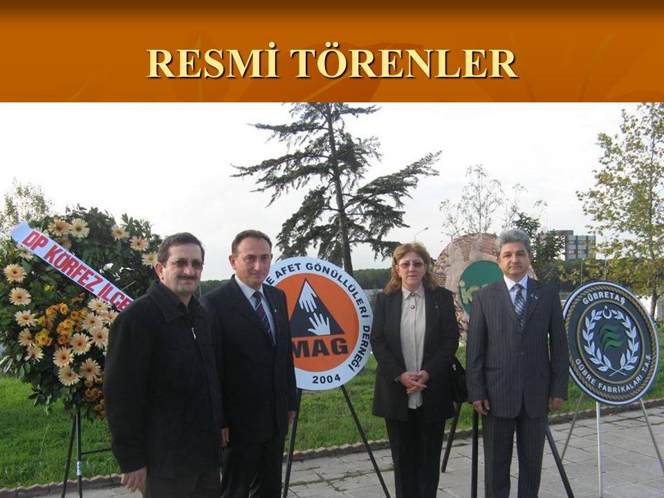 RESMİ TÖRENLER