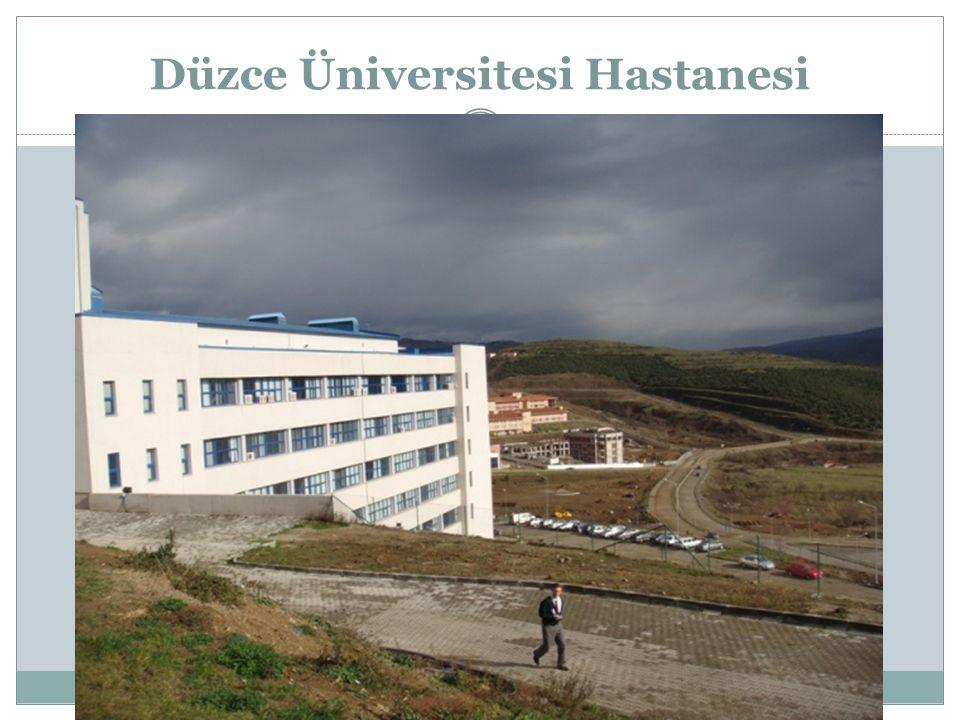 Düzce Üniversitesi Hastanesi