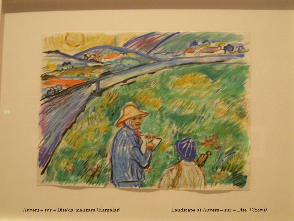 Van Gogh'un buğday tarlası (Kargalar) Van Gogh's wheat field (Crows)