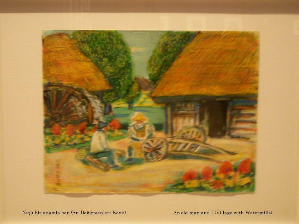Yaşlı değirmenci (Su Değirmenleri Köyü) An old man of a watermill (Village with Watermills)