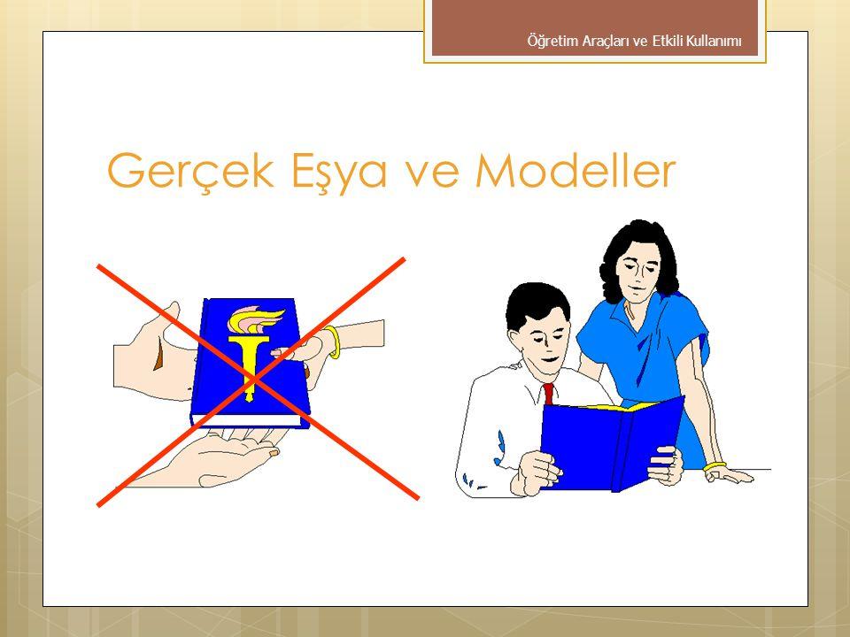 Gerçek Eşya ve Modeller Öğretim Araçları ve Etkili Kullanımı