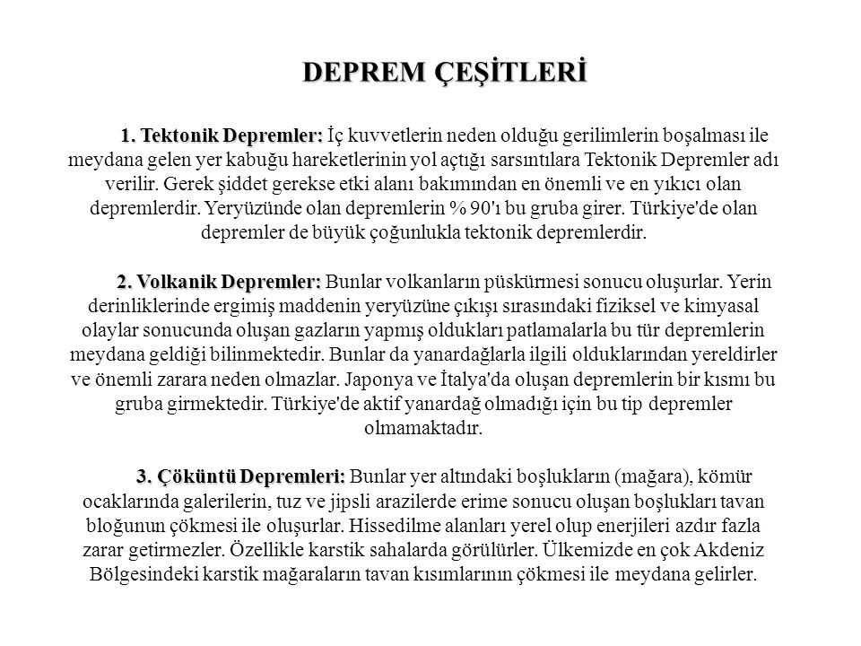 YÜKSEK YAPILARDA DEPREM DAVRANIŞI Üst katlar alt katlara göre çok daha fazla sallanır.