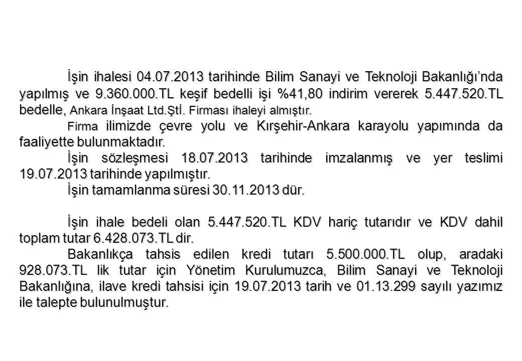 ARZ EDERİM Mustafa BULDUK OSB Müdür V.