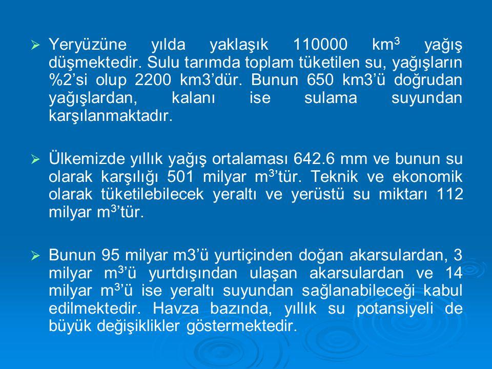 SULAMA YÖNETİMİ   Türkiye'de su kaynaklarının yönetimi, korunması ve çeşitli amaçlarla kullanıcıların hizmetine sunulması devletin görevi olup, bu hizmet kamu hizmeti olarak vatandaşlara sunulmaktadır.