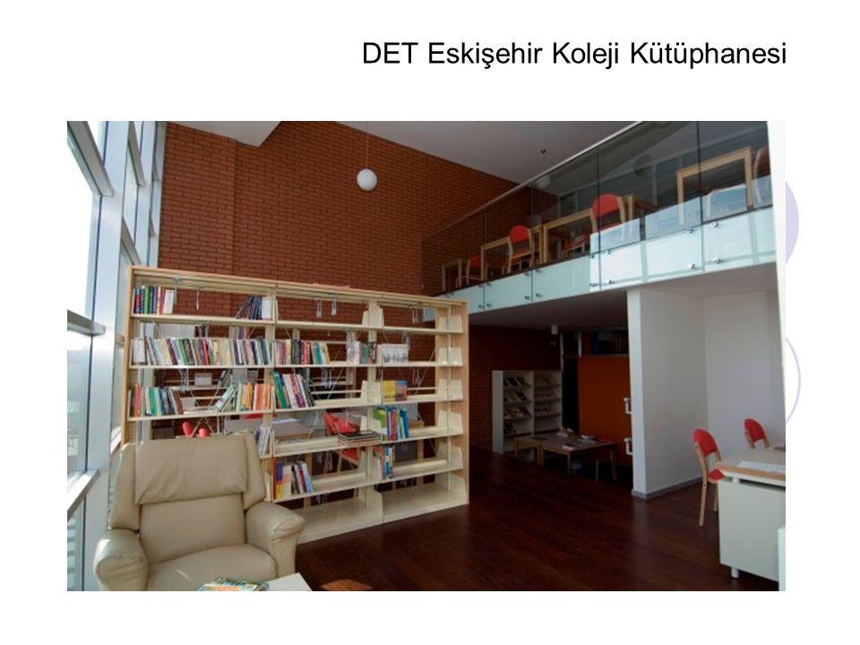 DET Eskişehir Koleji Kütüphanesi