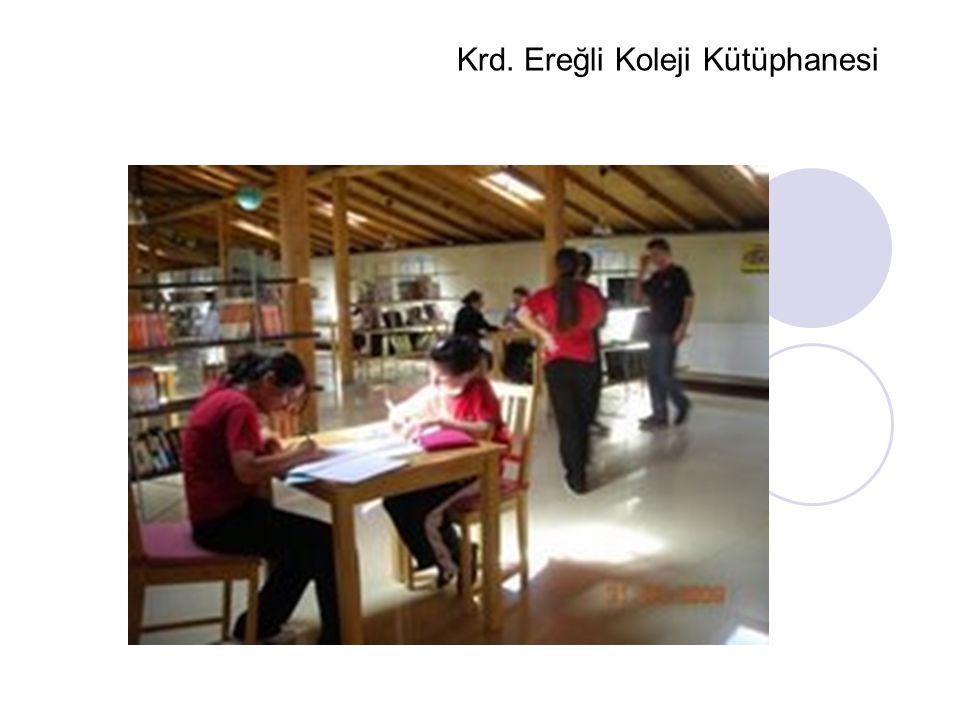 Krd. Ereğli Koleji Kütüphanesi