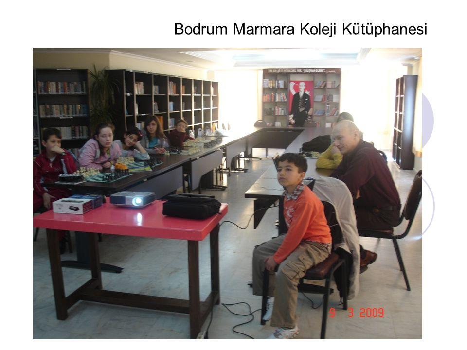 Bodrum Marmara Koleji Kütüphanesi