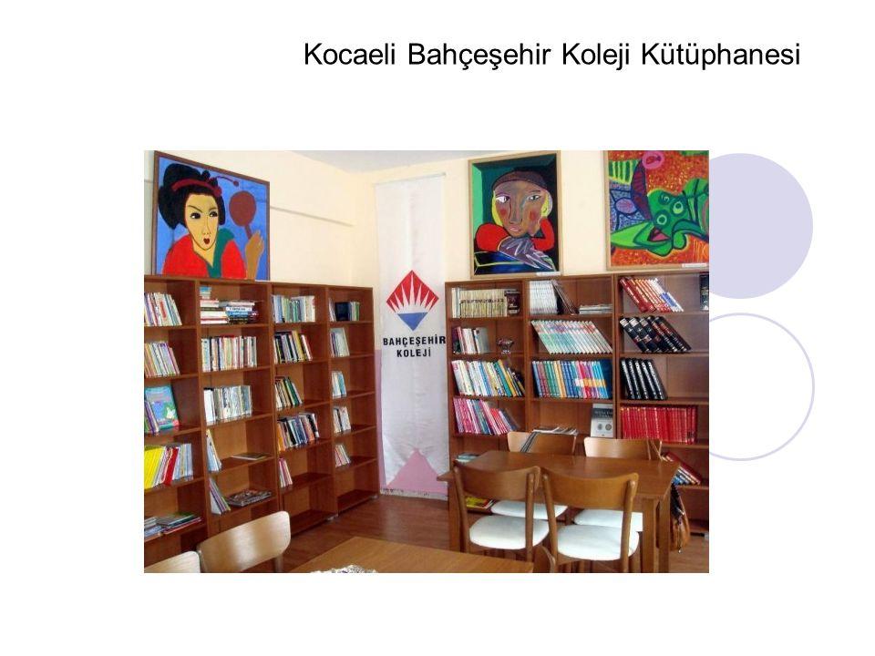 Kocaeli Bahçeşehir Koleji Kütüphanesi