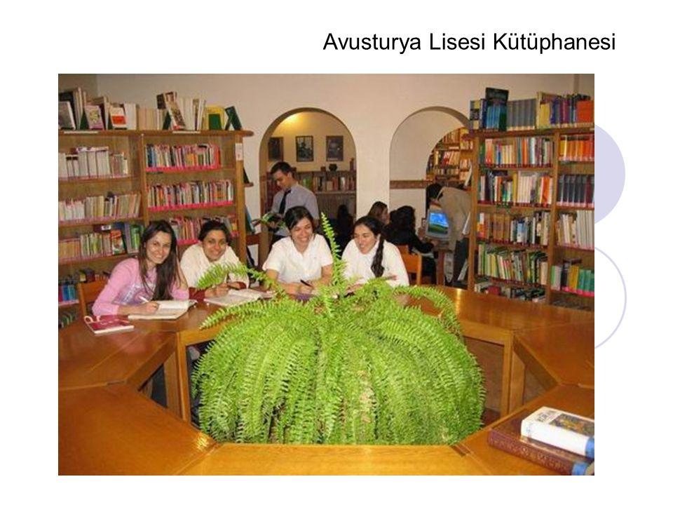 Avusturya Lisesi Kütüphanesi