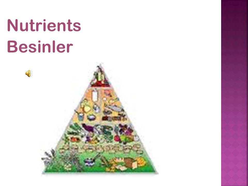 Nutrients Besinler