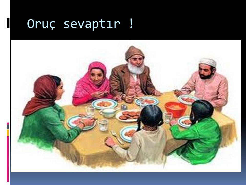 Ramazan ayında iftarın birlik ve beraberliğimize katkısı nedir.
