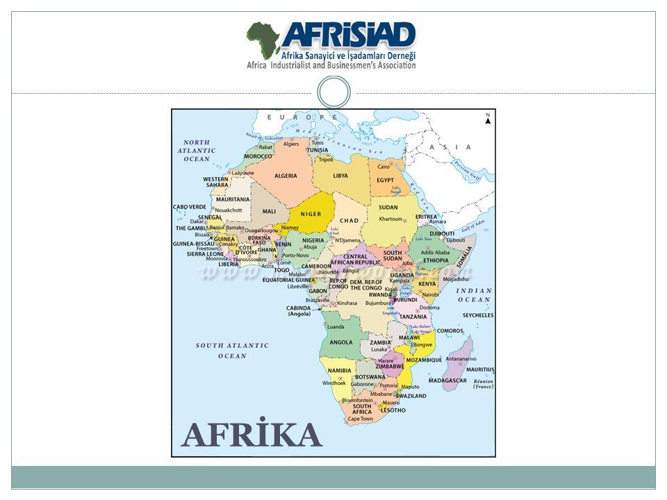 5 BÖLGE - Kuzey Afrika - Batı Afrika - Orta Afrika - Doğu Afrika - Güney Afrika