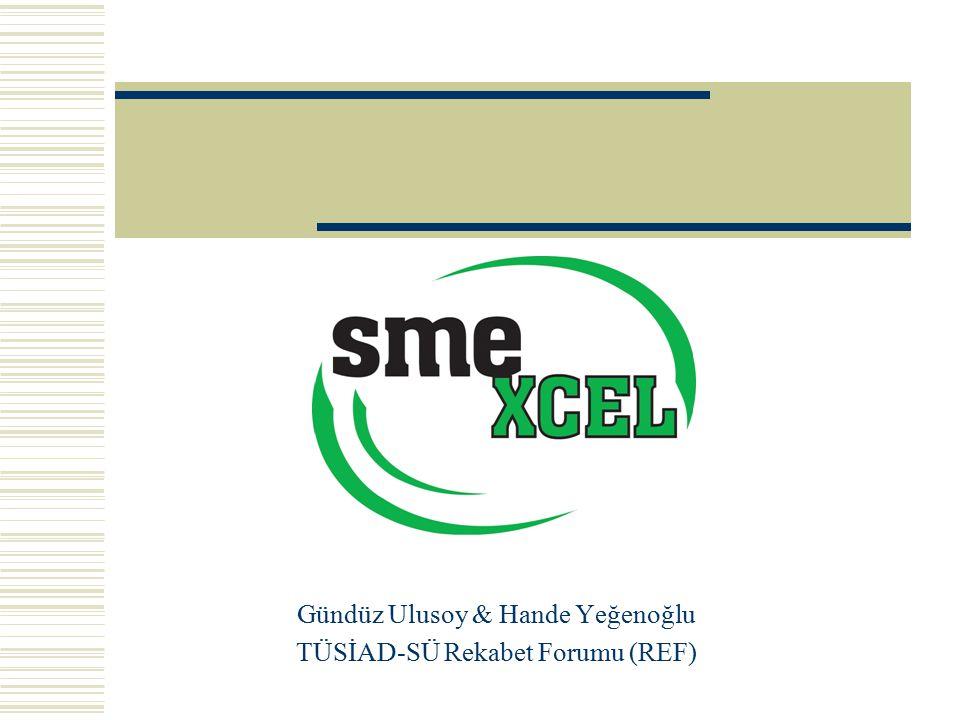 Gündüz Ulusoy & Hande Yeğenoğlu TÜSİAD-SÜ Rekabet Forumu (REF)