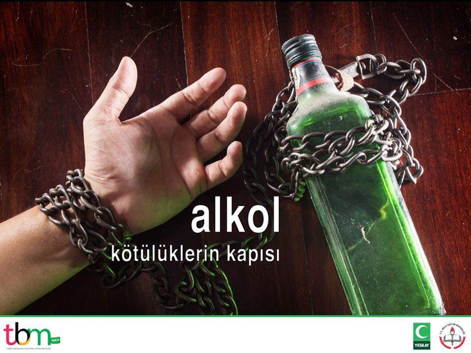 Sadece kişinin kendisine değil çevresine de büyük zararlar veren alkol nedir?