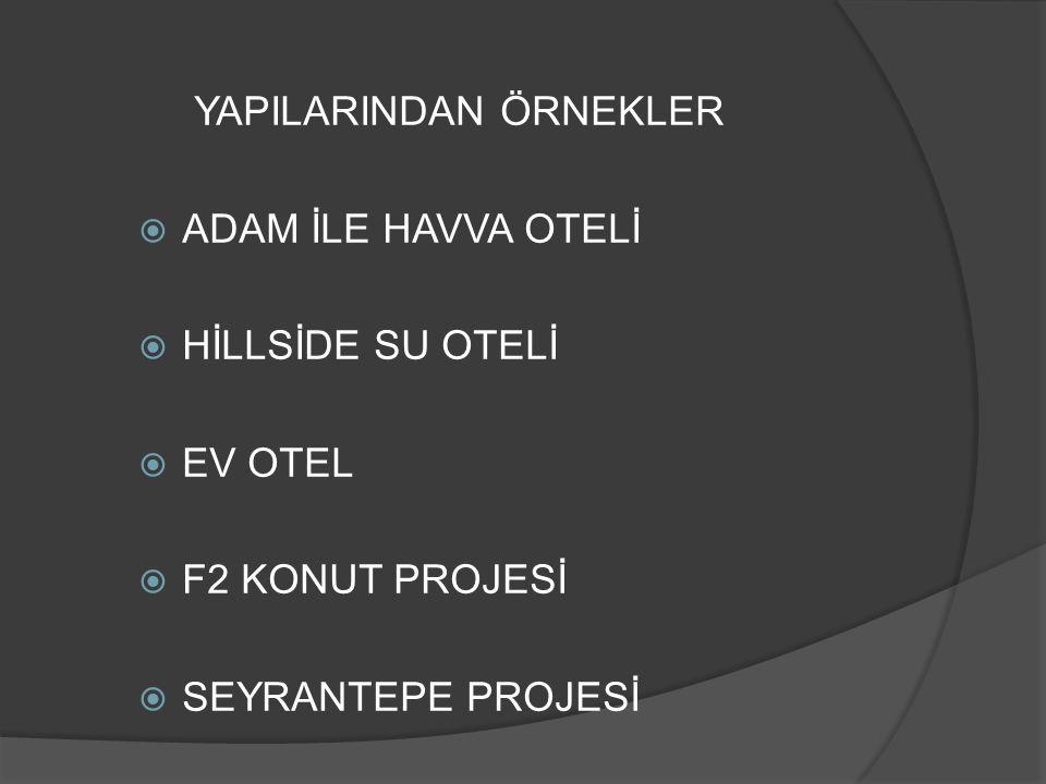 HİLLSİDE SU OTELİ
