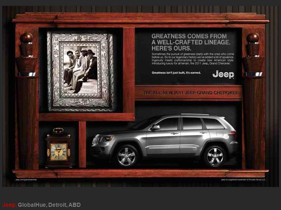 Jeep, GlobalHue, Detroit, ABD