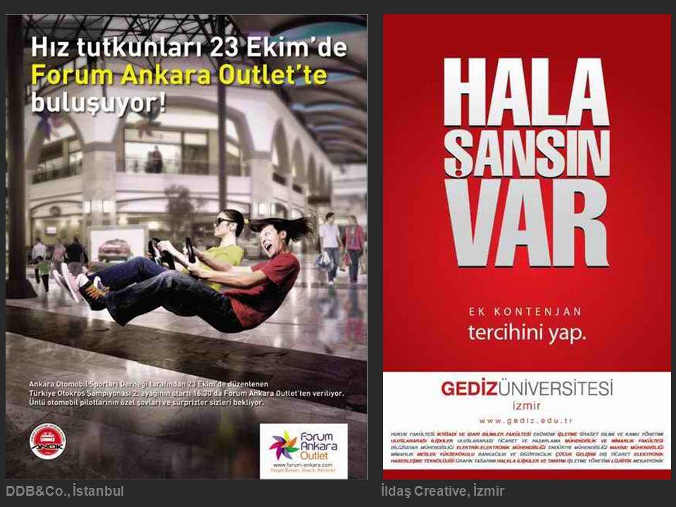 DDB&Co., İstanbul İldaş Creative, İzmir