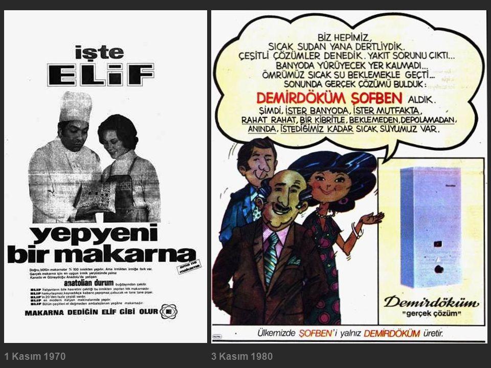 1 Kasım 19703 Kasım 1980