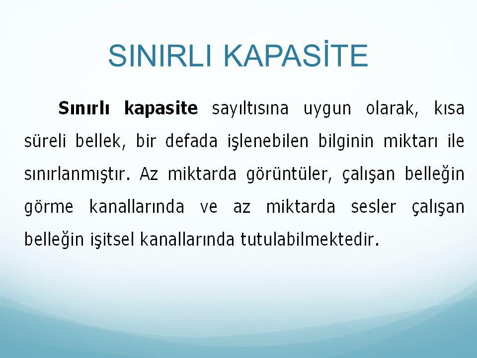 SINIRLI KAPASİTE