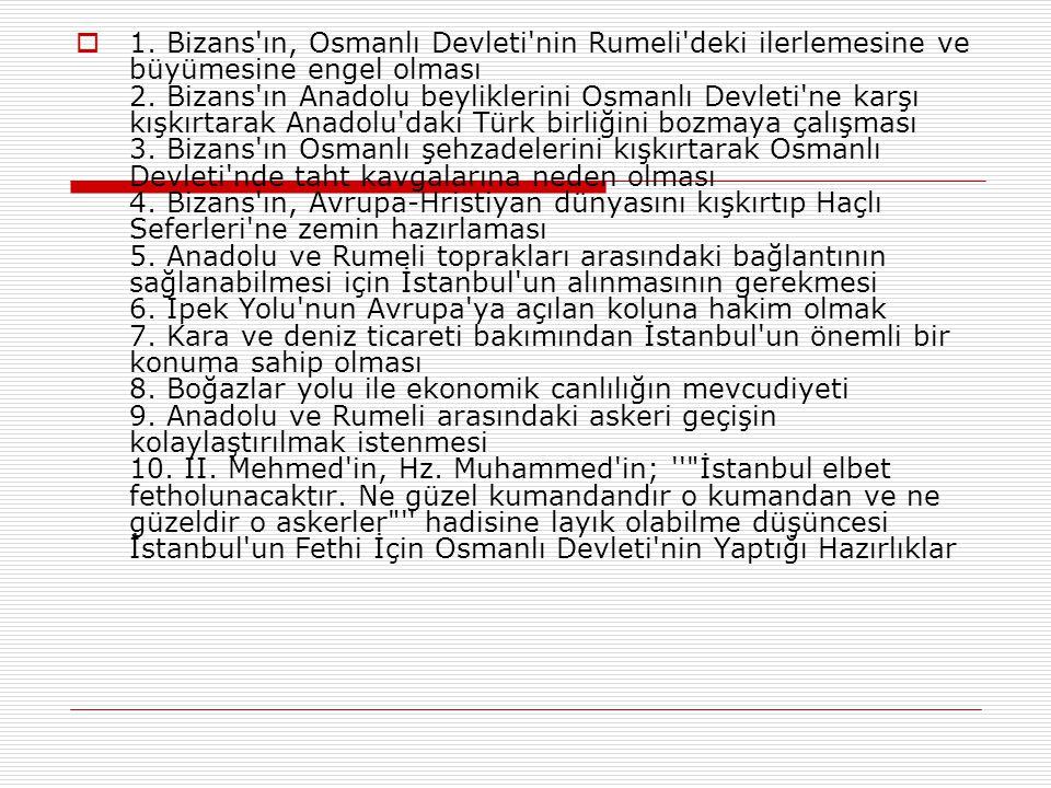  İstanbul'un o döneme kadar fethedilemeyen efsanevi bir şehir olmasının en büyük sebebi çevresini kuşatan surlardı. O dönemde başka hiçbir yerde bu k