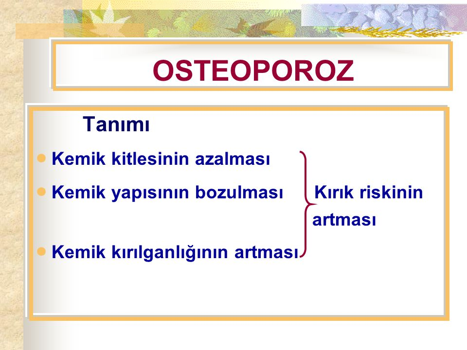 Normal Osteoporoz