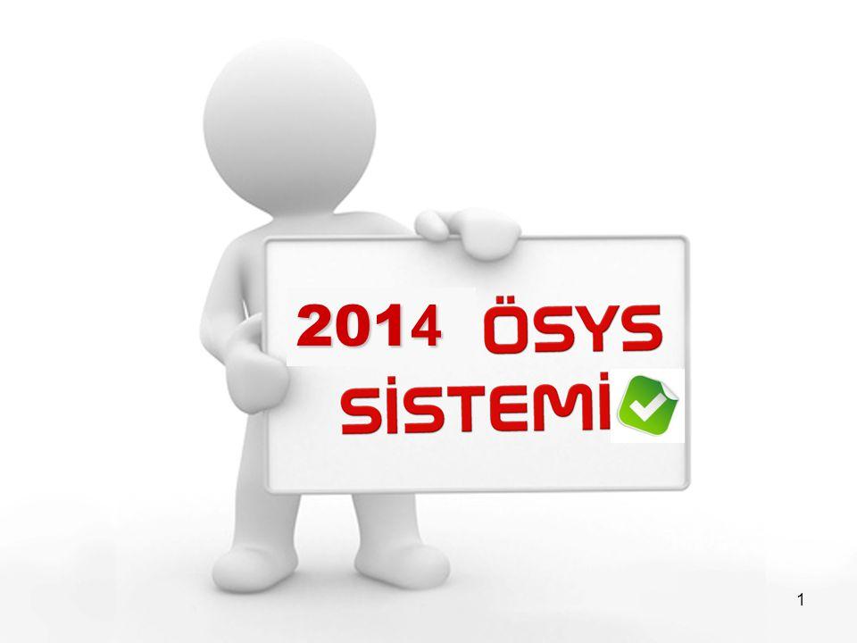 2 YGS-LYS sistemi 2 aşamalı sınavlardan oluşan bir sistemdir.