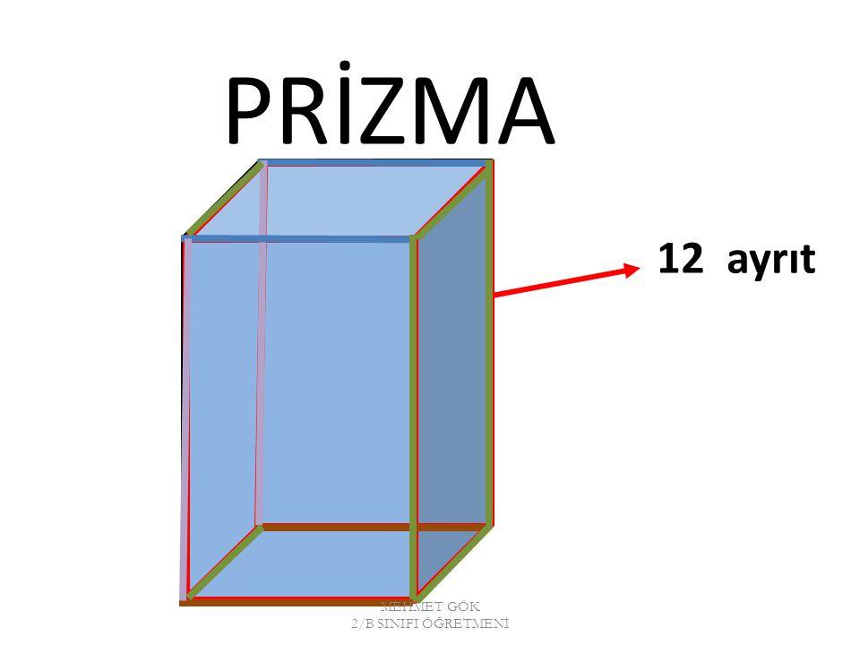 PRİZMA 12 ayrıt MEHMET GÖK 2/B SINIFI ÖĞRETMENİ