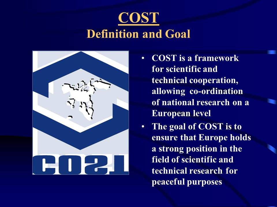 How to create or join a COST Action.