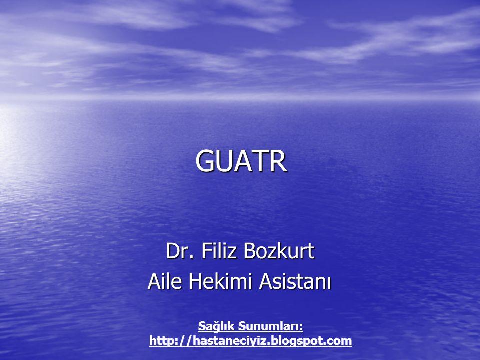 GUATR GUATR Dr.
