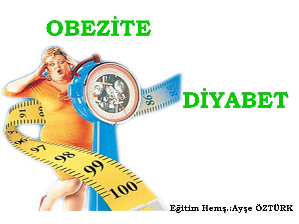 OBEZİTENİN NEDENLERİ Fazla yemek yeme Fiziksel hareket azlığı Sosyoekonomik ve psikolojik faktörler Metabolik ve hormonal bozukluklar Genetik faktörler