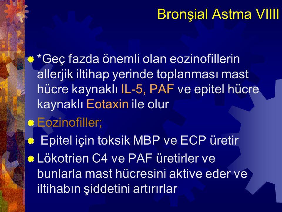 Bronşial Astma IX  MORFOLOJİ:  Uzun süren astmatik nöbetlerden ölen hastalarda (Status astmatikus)tariflenmiştir.