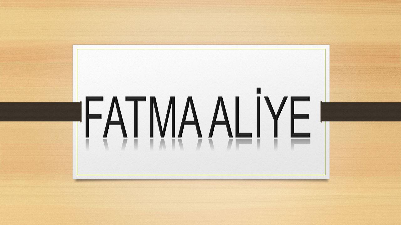Tam adı Fatma Aliye Topuz'dur.1862 yılında İstanbul'da doğmuştur.