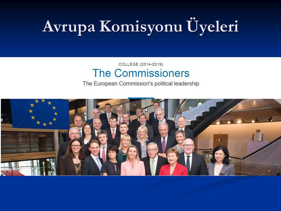 Avrupa Komisyonu Üyeleri