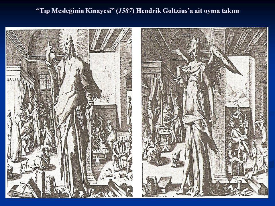 """""""Tıp Mesleğinin Kinayesi"""" (1587) Hendrik Goltzius'a ait oyma takım"""