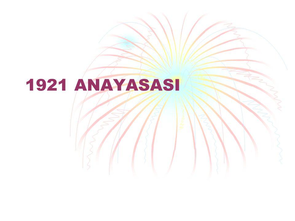 1921 ANAYASASI