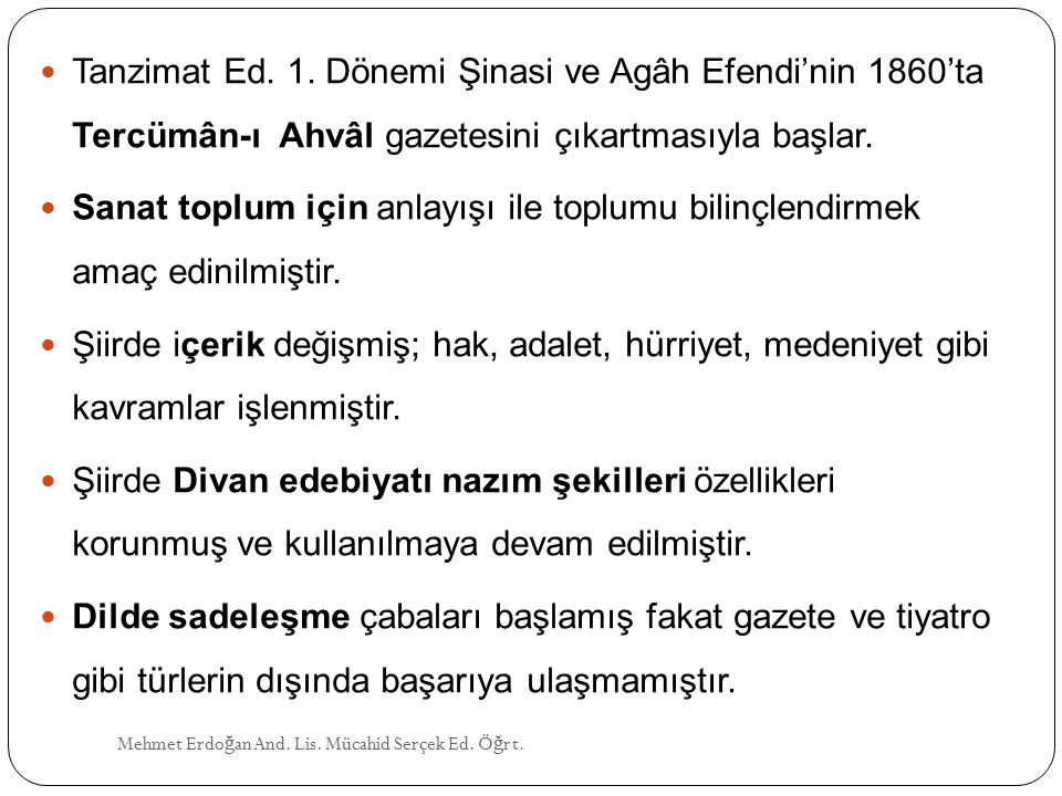 Tanzimat Ed.1.