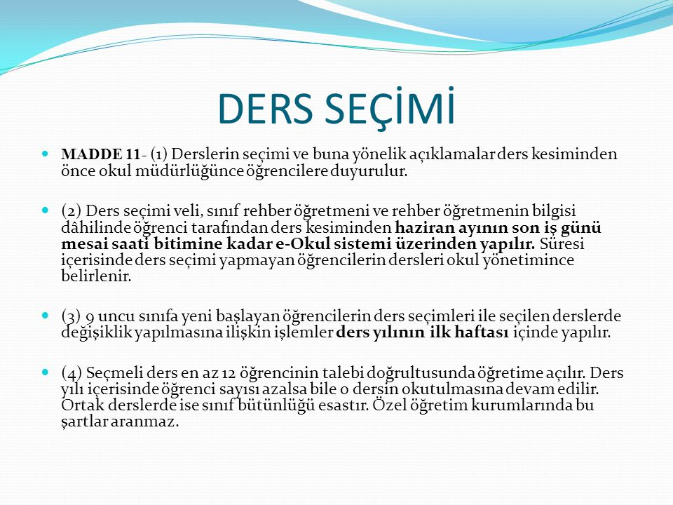 DİSİPLİN (4) Örgün eğitim dışına çıkarma cezasını gerektiren davranışlar; a) Türk Bayrağına, ülkeyi, milleti ve devleti temsil eden sembollere hakaret etmek, b) Türkiye Cumhuriyeti nin devleti ve milletiyle bölünmez bütünlüğü ilkesine ve Türkiye Cumhuriyetinin insan haklarına ve Anayasanın başlangıcında belirtilen temel ilkelere dayalı millî, demokratik, laik ve sosyal bir hukuk devleti niteliklerine aykırı miting, forum, direniş, yürüyüş, boykot ve işgal gibi ferdi veya toplu eylemler düzenlemek; düzenlenmesini kışkırtmak ve düzenlenmiş bu gibi eylemlere etkin olarak katılmak veya katılmaya zorlamak, c) Kişileri veya grupları; dil, ırk, cinsiyet, siyasi düşünce, felsefi ve dini inançlarına göre ayırmayı, kınamayı, kötülemeyi amaçlayan bölücü ve yıkıcı toplu eylemler düzenlemek, katılmak, bu eylemlerin organizasyonunda yer almak, ç) Kurul ve komisyonların çalışmasını tehdit veya zor kullanarak engellemek, d) Bağımlılık yapan zararlı maddelerin ticaretini yapmak, e) Okul ve eklentilerinde güvenlik güçlerince aranan kişileri saklamak ve barındırmak, f) Eğitim ve öğretim ortamını işgal etmek, g) Okul içinde ve dışında tek veya toplu hâlde okulun yönetici, öğretmen, eğitici personel, memur ve diğer personeline karşı saldırıda bulunmak, bu gibi hareketleri düzenlemek veya kışkırtmak, ğ) Okul çalışanlarının görevlerini yapmalarına engel olmak için fiili saldırıda bulunmak ve başkalarını bu yöndeki eylemlere kışkırtmak,